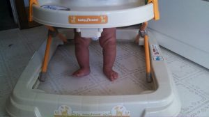 Her new walker at great-granny's house