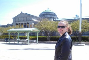 Headed into the Museum of Science and Industry
