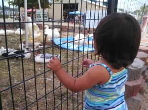 Her ducky, ducky