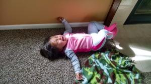 Throwing one heckuva tantrum