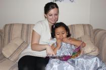 Niece's fourth birthday, 2012