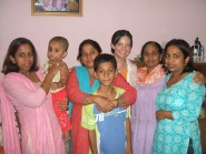 With my meetini's family in 2008