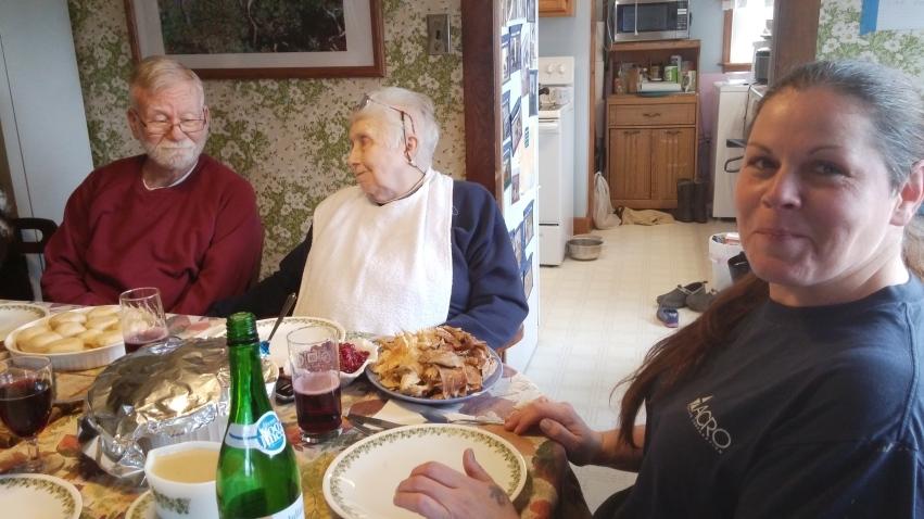 Grandparents and savior friend