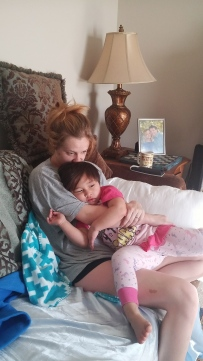 Snuggles with Auntie