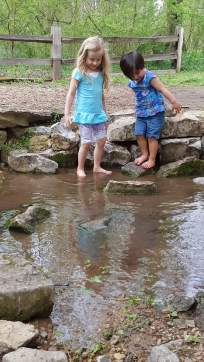Dipping toes in streams once considered sacred by slaves on the property